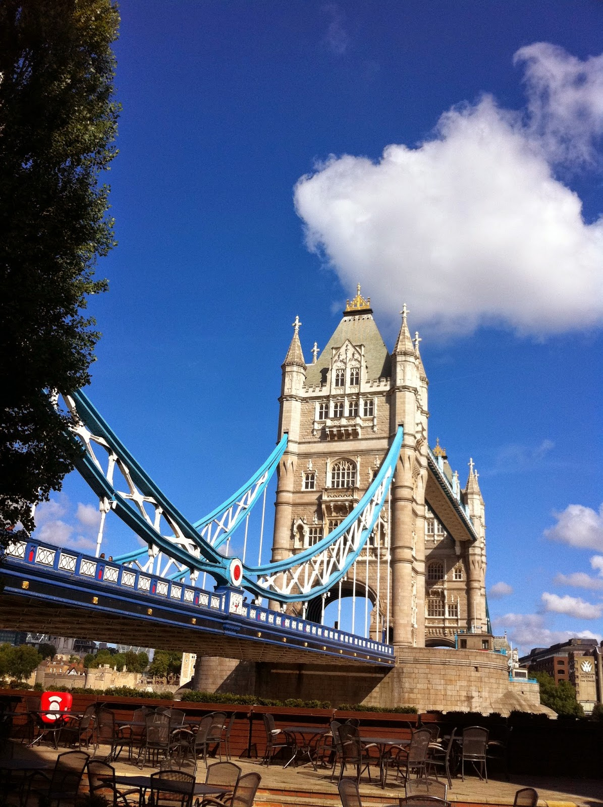 DAILY SCHMANKERL : Tower Bridge, Sightseeing in sunny London