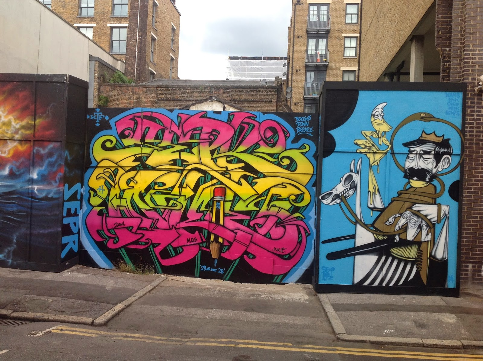 "DAILY SCHMANKERL : Spaziergang durch East London – ""mein Shoreditch"""