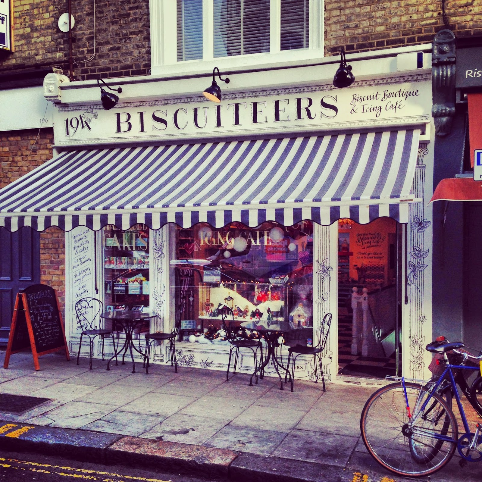 The Biscuiteers in Notting Hill