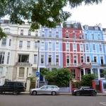 DAILY SCHMANKERL : Colourful Houses in Notting Hill