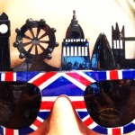 DAILY SCHMANKERL : Kitsch Brille für London Lover