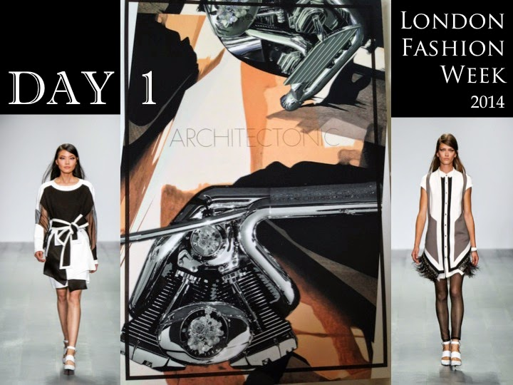 London Fashion Week kicks off! Day 1
