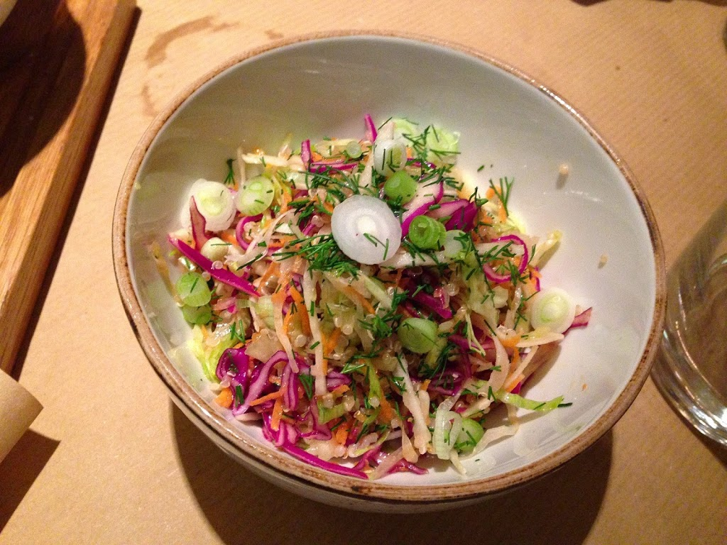 Greek Coleslaw with Quinoa and Dill