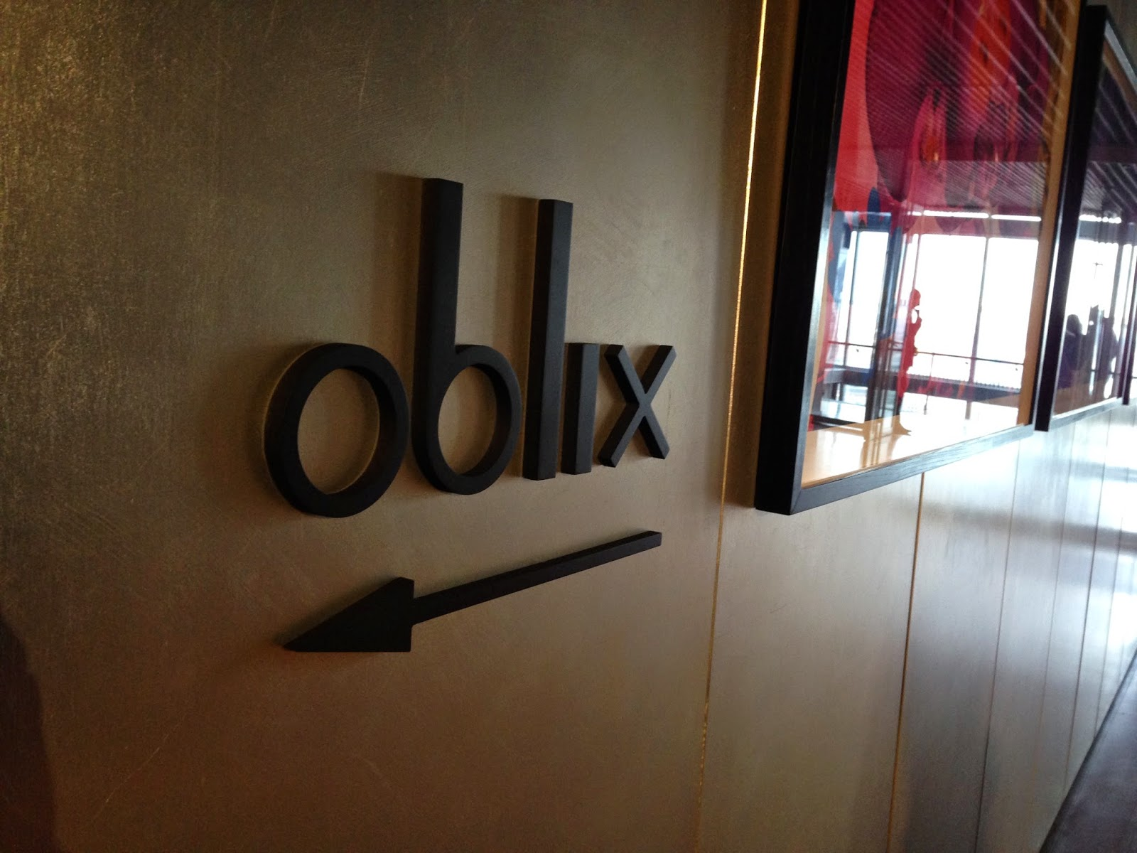 Lunch with a view at Oblix