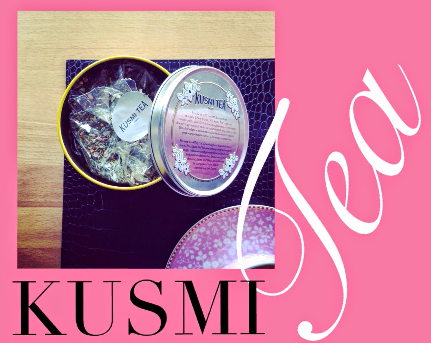 Start your Day right with Detox Kusmi Tea