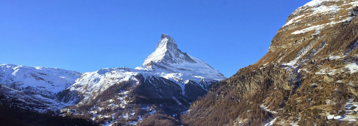 Winter Wonderland at the Matterhorn