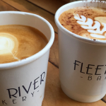 Coffee at Fleet River Bakery