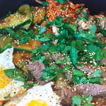 Bibimbap Bowl /// Homemade