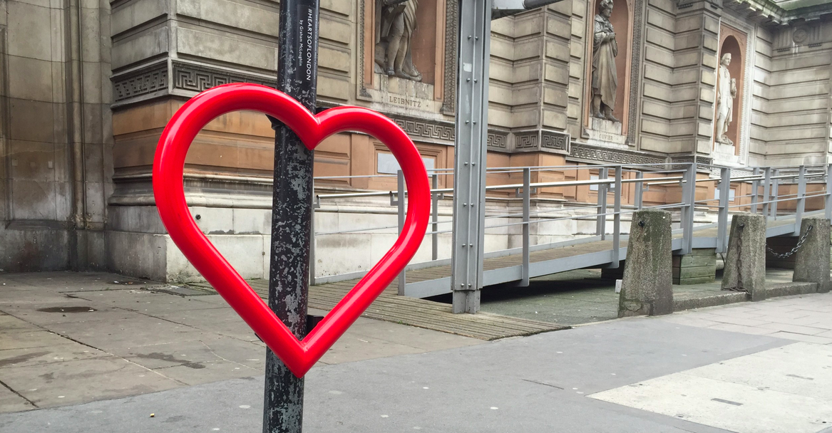Hearts of London / Street Art