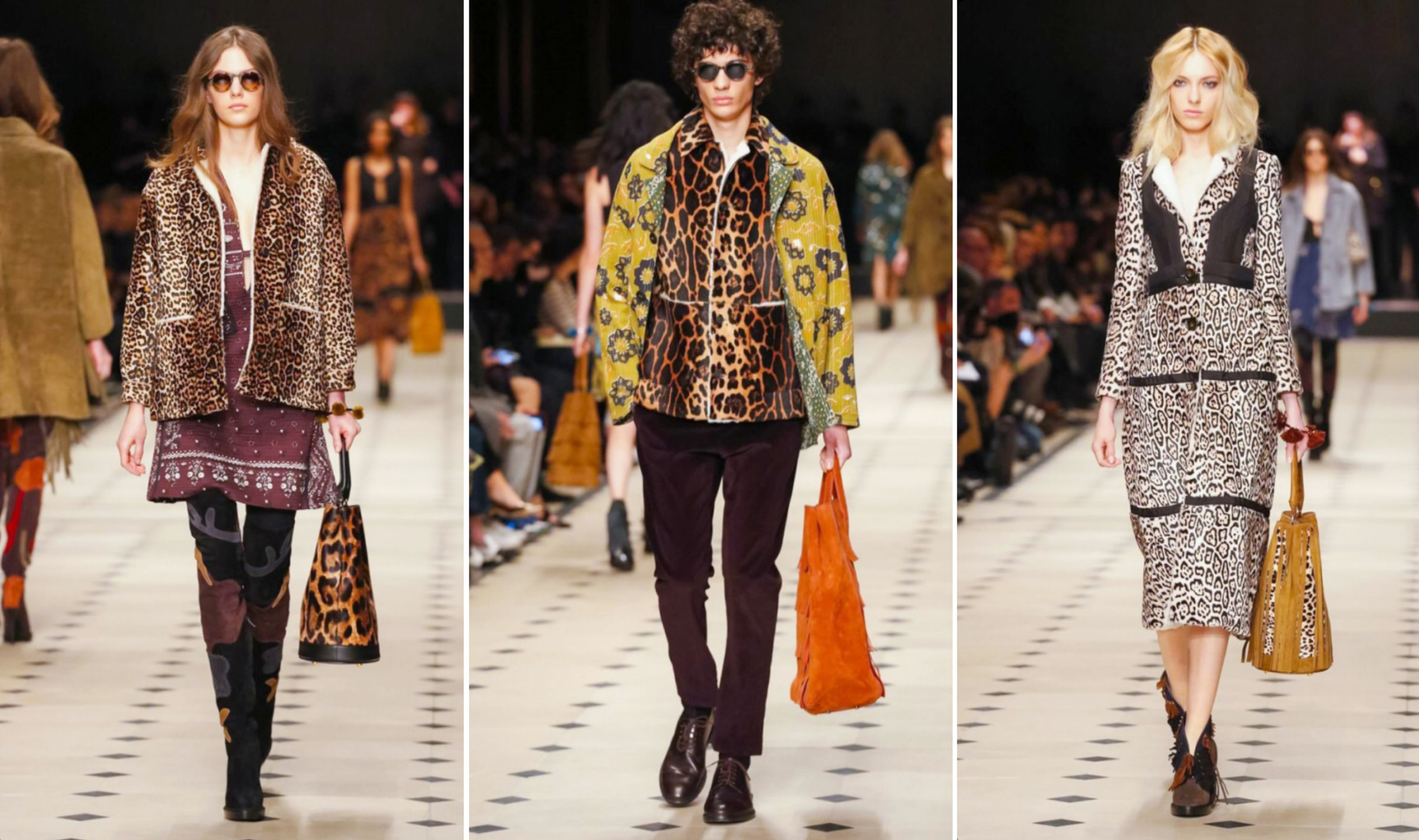 Burberry Runway Trend Animal Print