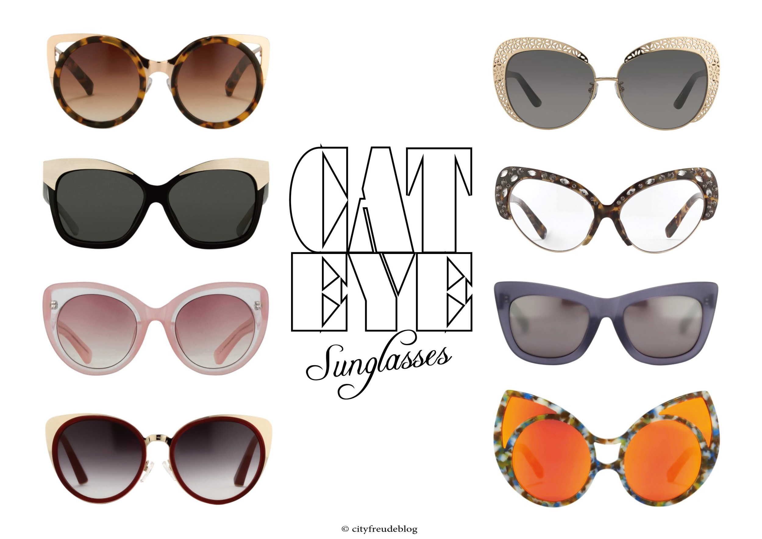 CAT EYE SUNGLASSES BLOG