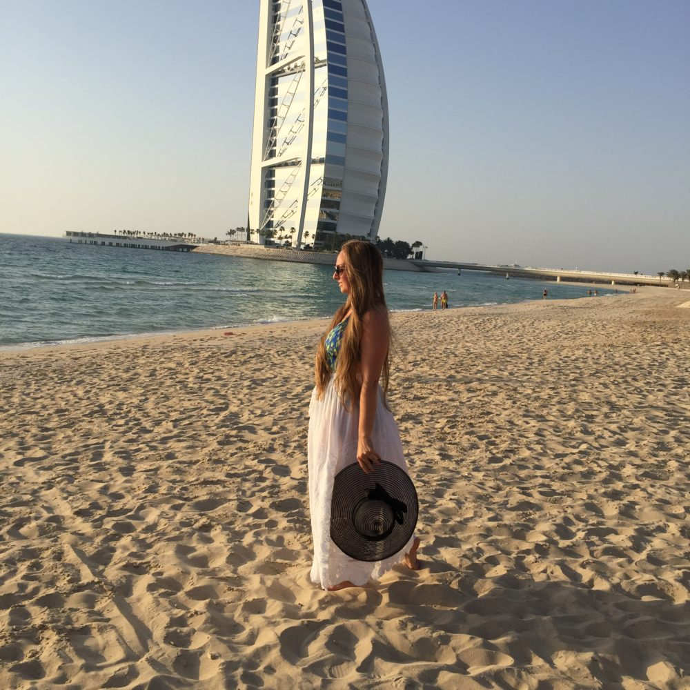 Dubai Beach Girl 223