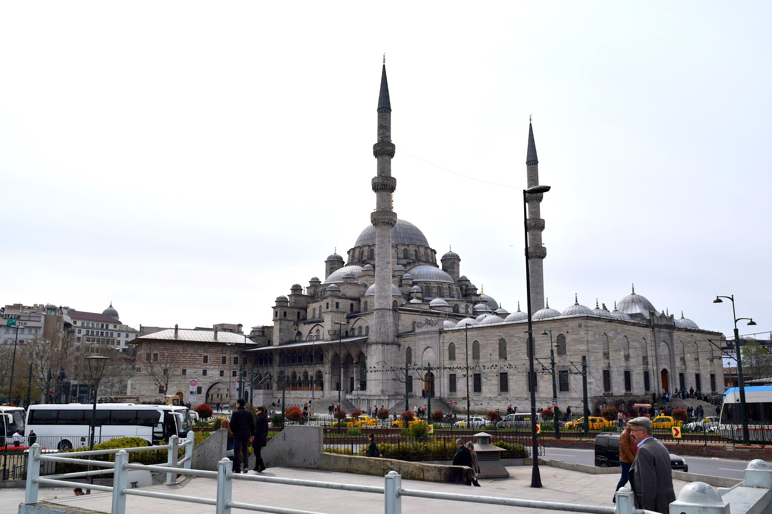Istanbul New Mosque Header