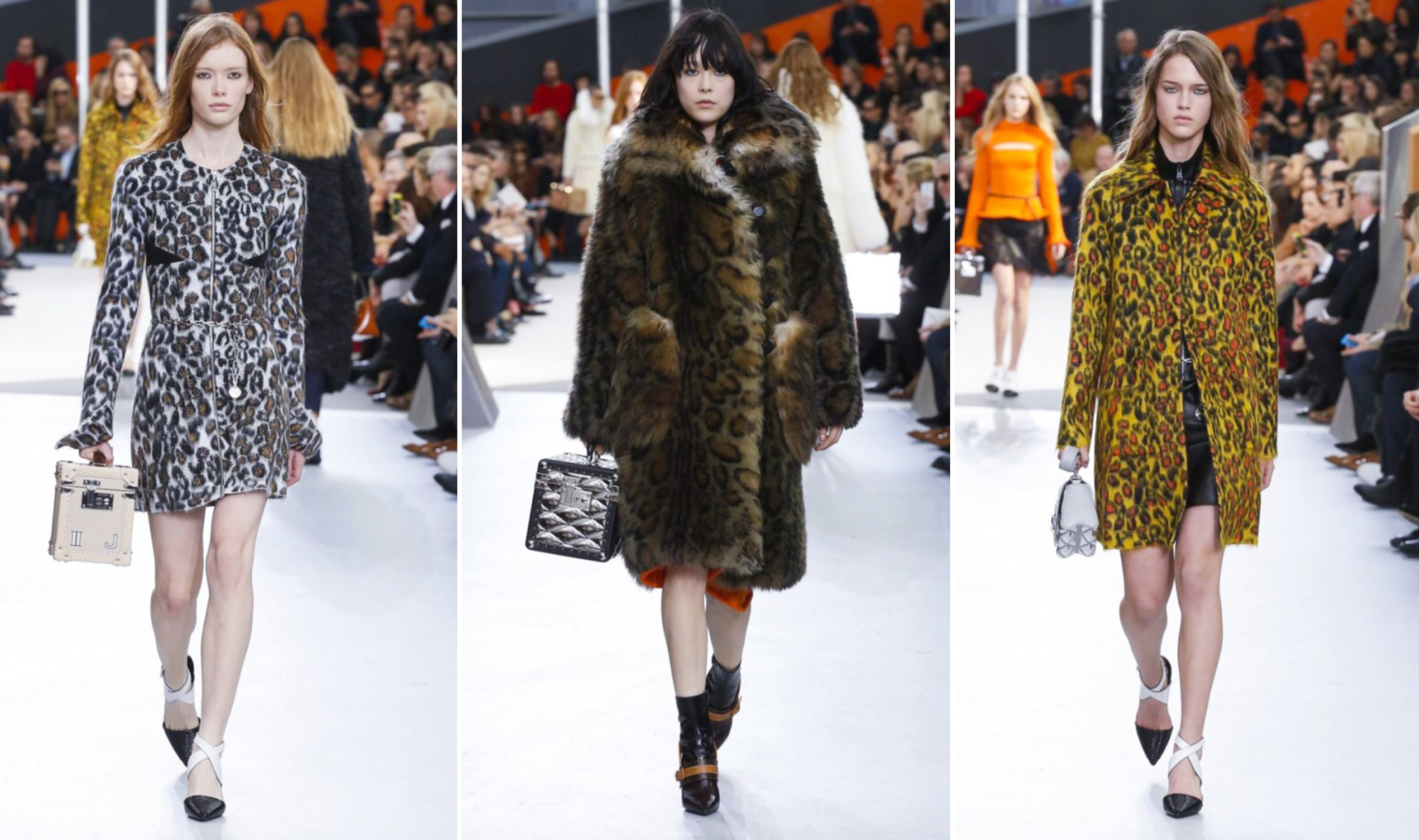 Louis Vuitton Runway Trend Animal Print