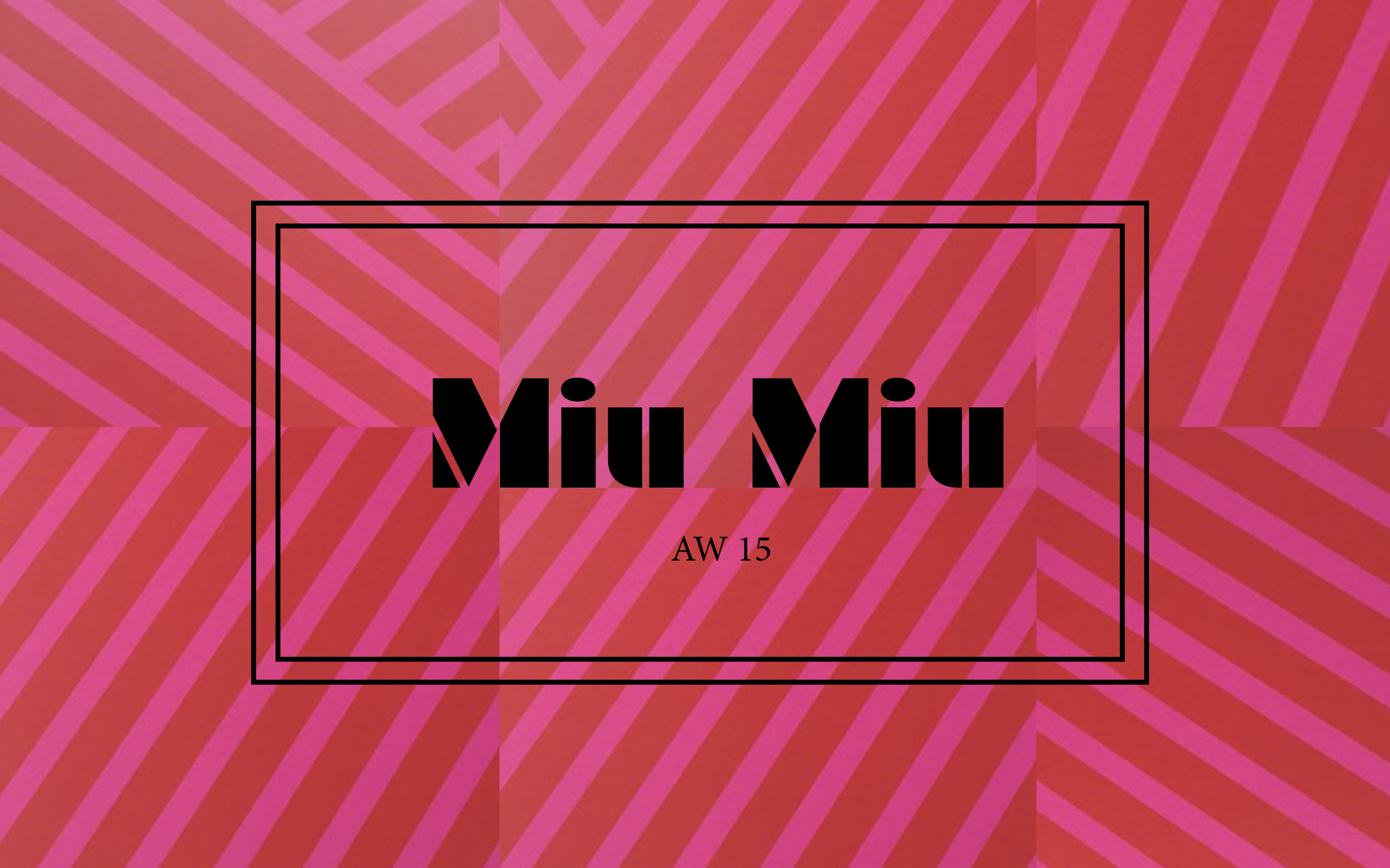 Miu Miu LFW DESIGNER SHOWs AW15