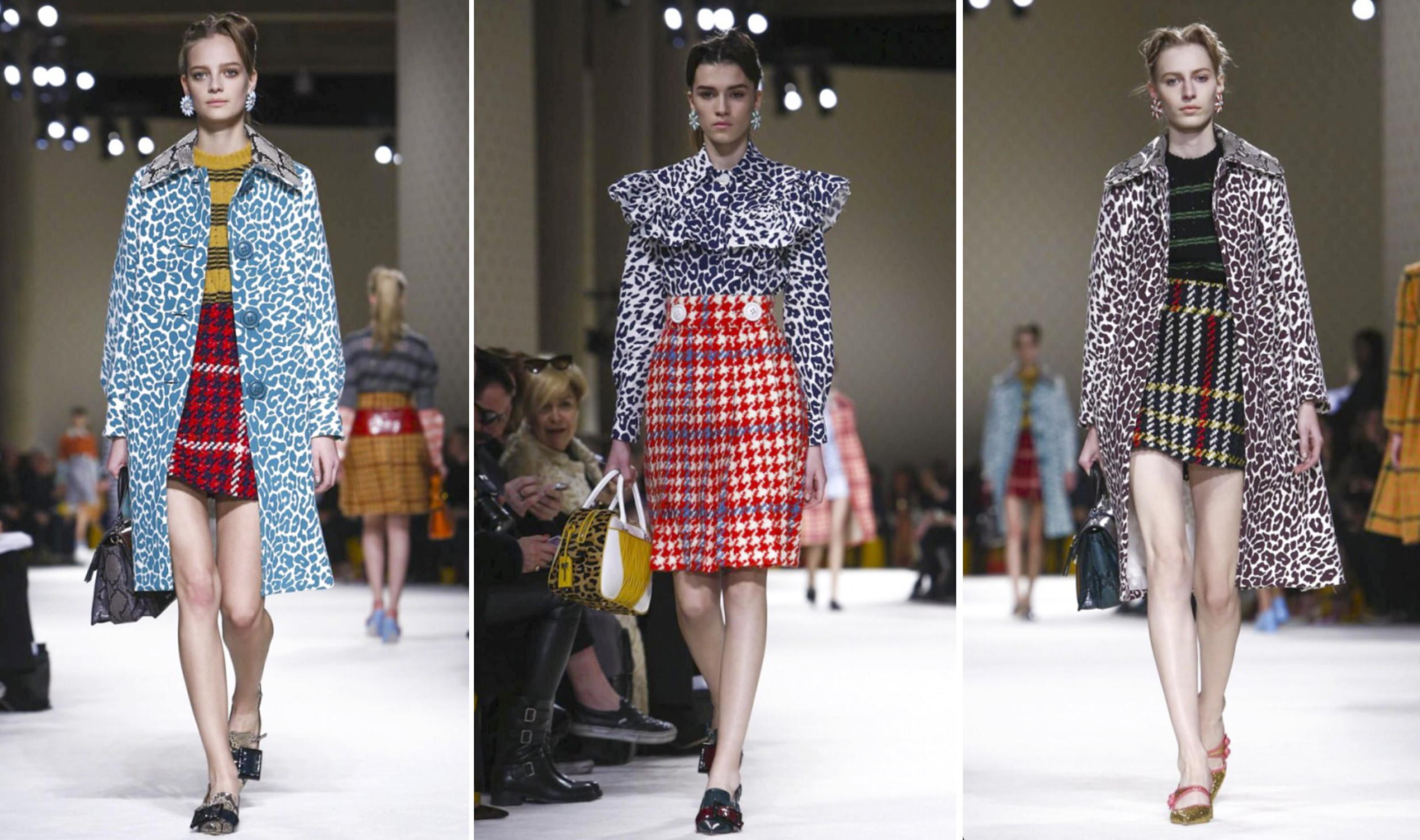 Miu Miu Runway Trend Animal Print