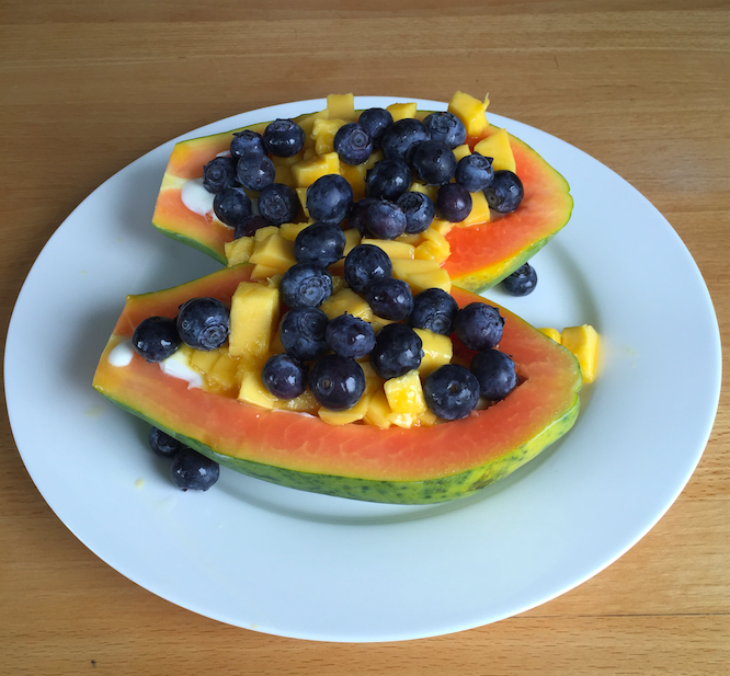 Papaya Bowl Breakfast 2
