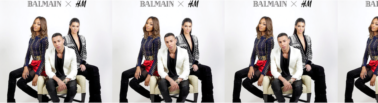 Balmain meets H&M /// NEWS