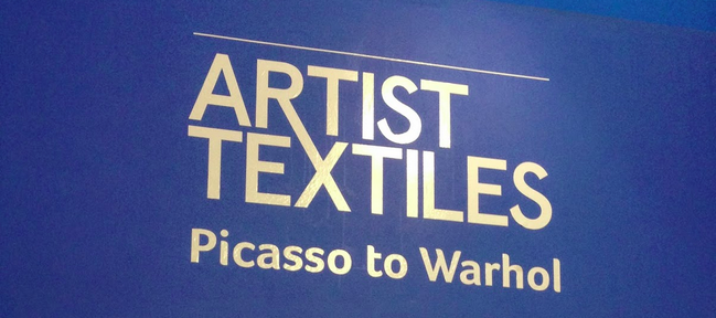 Artist Textiles – Picasso to Warhol