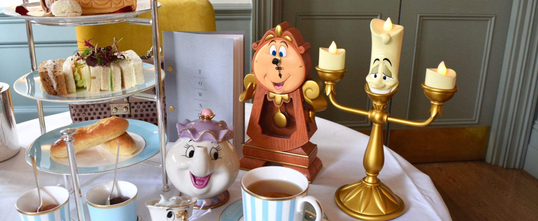 Beauty and the Beast Afternoon Tea