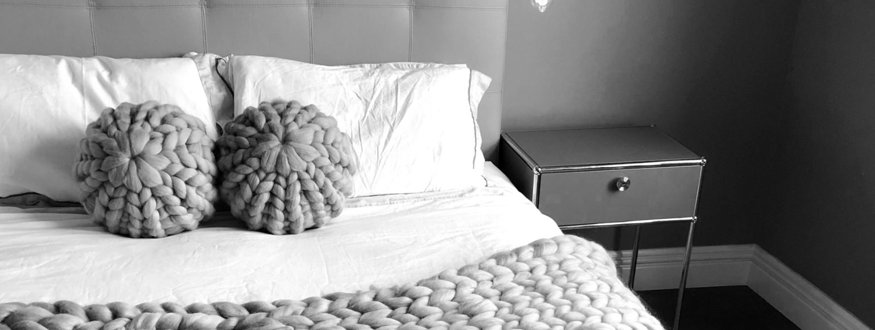 Interior Love: Chunky Knit Accessories