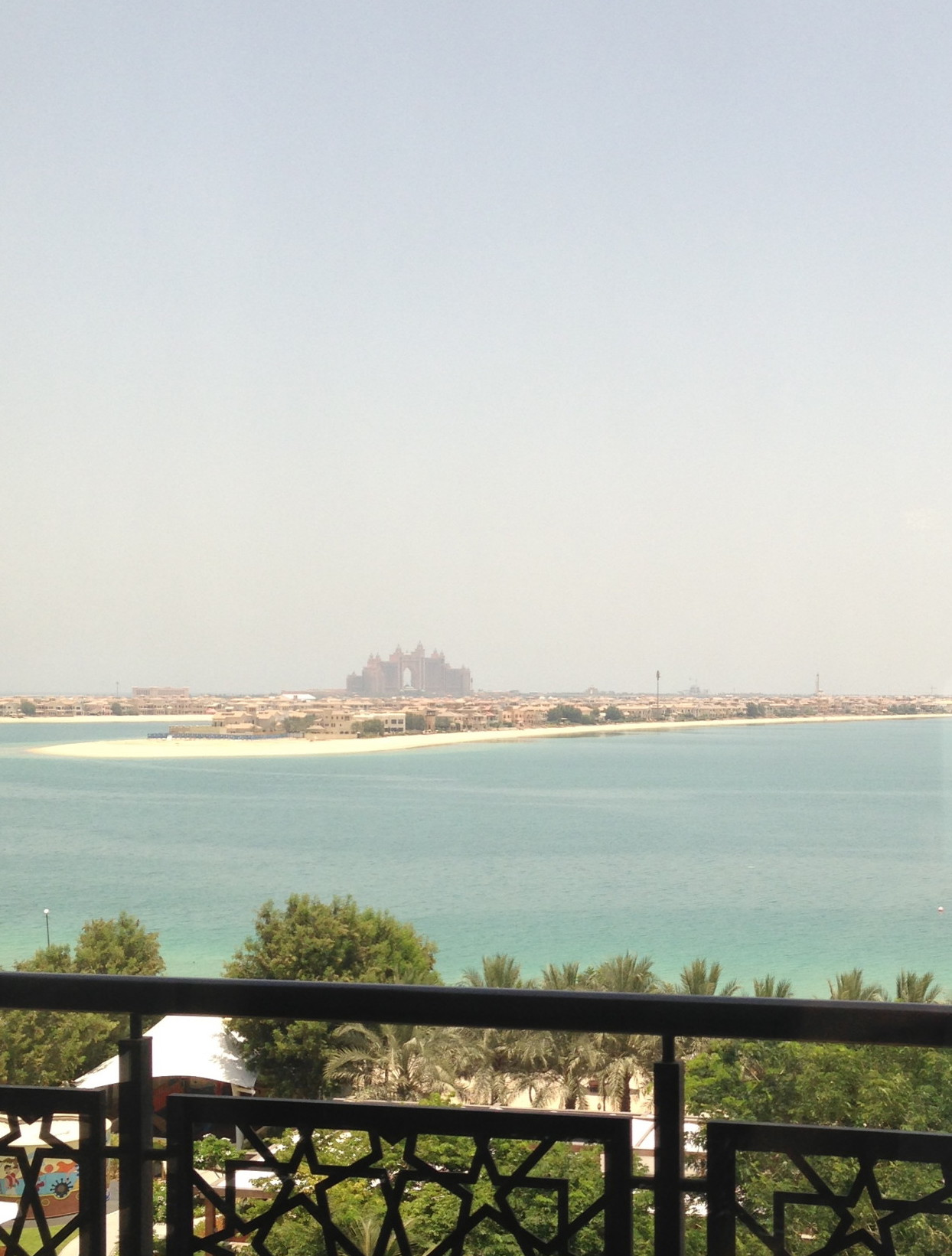 VIEW DUBAI PALM ATLANTIS