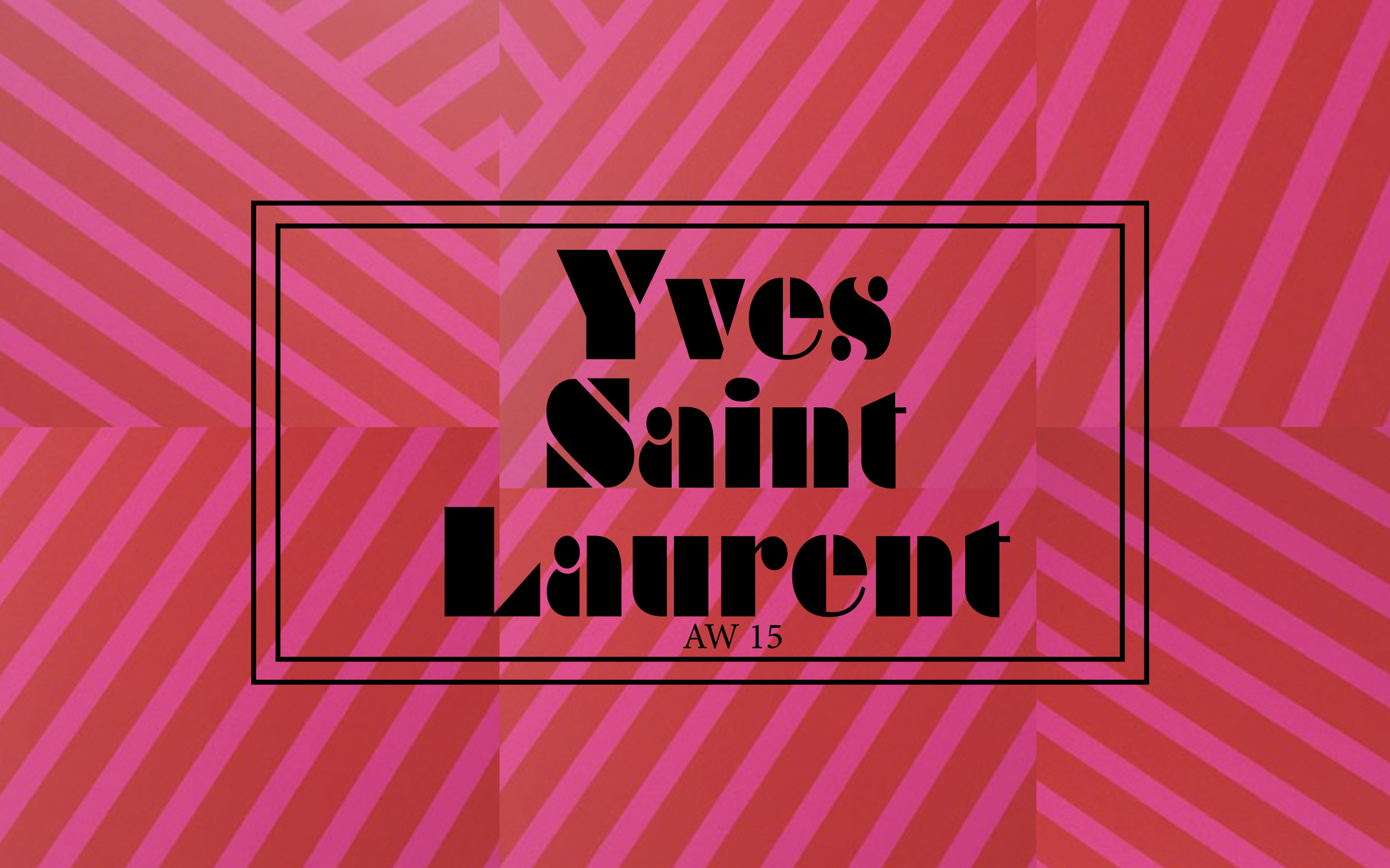 YSL LFW DESIGNER SHOWs AW15