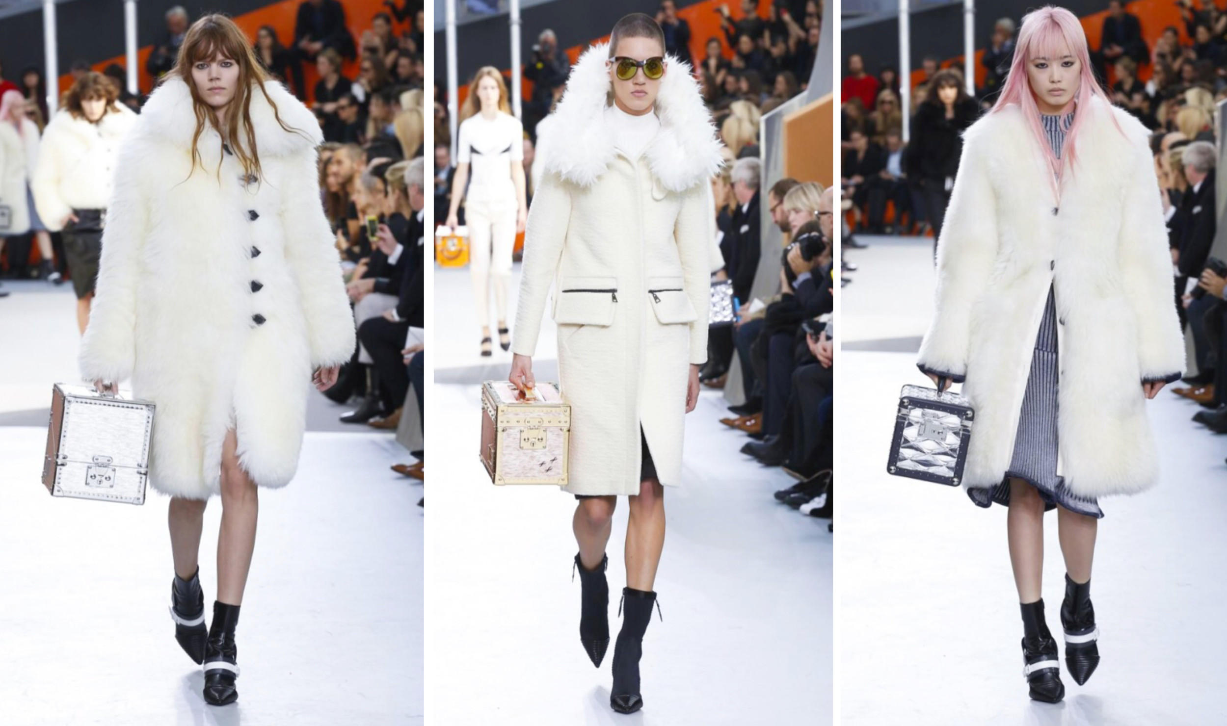 louis vuitton Runway Fur